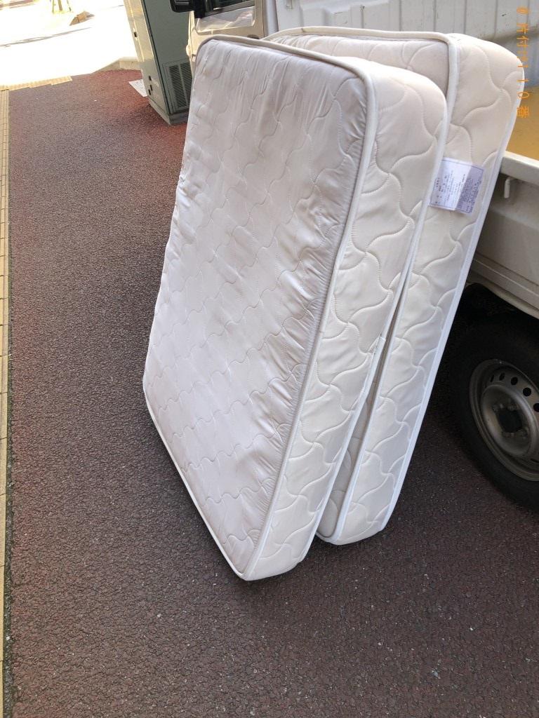 【千葉市中央区】マットレスの不用品回収・処分ご依頼 お客様の声