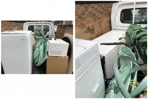 【栄町】でお引っ越しに伴う粗大ゴミ(冷蔵庫、洗濯機、テレビなど)の回収のご依頼 お客様の声