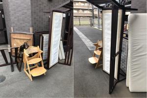 習志野市で家具(ダイニングテーブル、子供用ダイニングチェアなど)の回収のご依頼 お客様の声