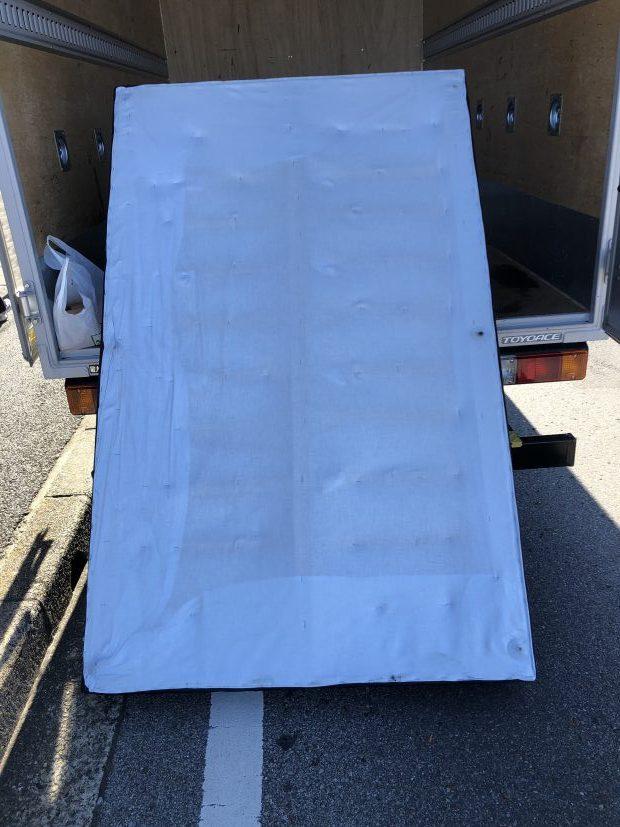 【千葉市花見川区】ベッドマットレスの回収☆短時間で作業が終わり、作業の早さにご満足いただけました!