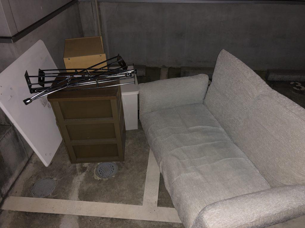 【佐倉市】お引っ越しに伴う家具の回収