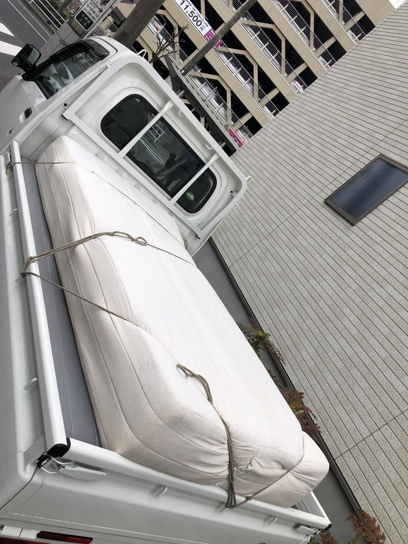 【千葉市稲毛区】シングルベッドとソファーベッドの回収・処分ご依頼