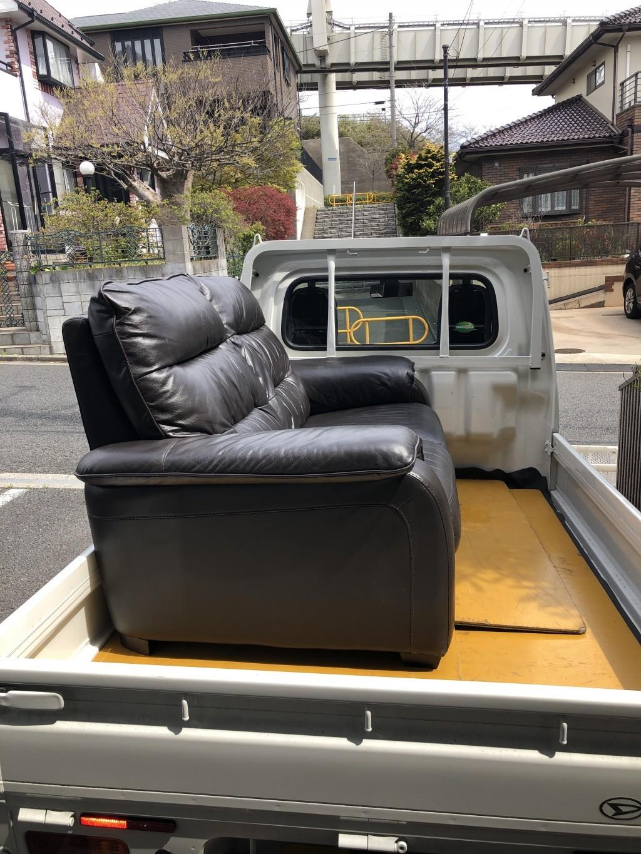 【千葉市若葉区】2人用ソファの不要品回収処分 お客様の声