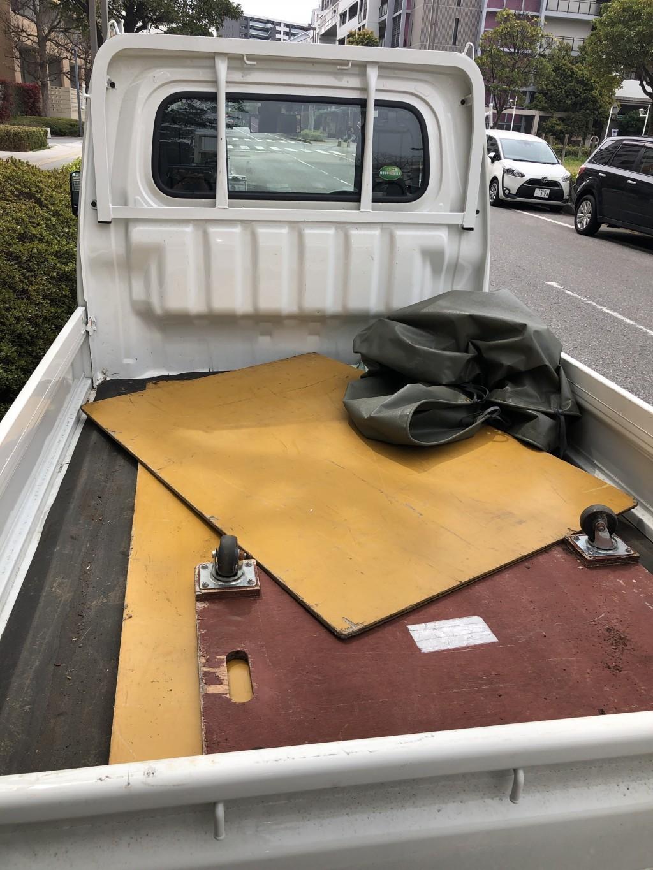 【千葉市美浜区】ソファー、オットマンの回収☆翌日対応できお喜びいただけました!