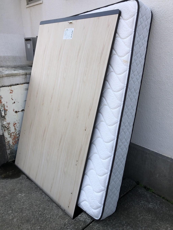 【千葉市稲毛区】セミダブルベッドの不用品回収処分 お客様の声