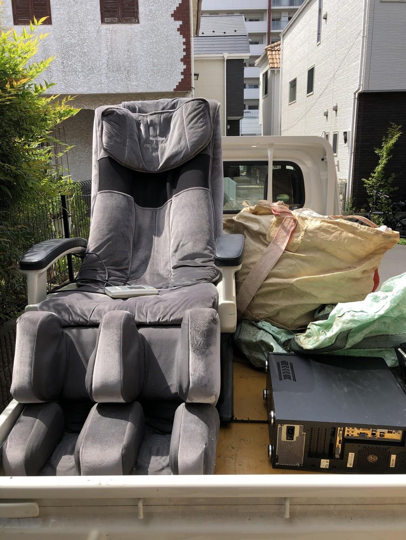 【船橋市】マッサージチェアの不用品回収・処分ご依頼 お客様の声