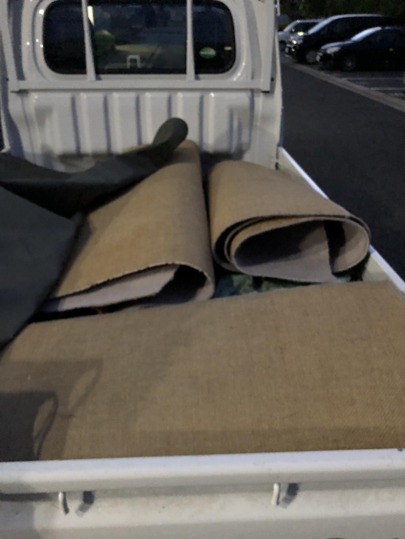 【船橋市】カーペット、家庭ごみの出張不用品回収・処分ご依頼
