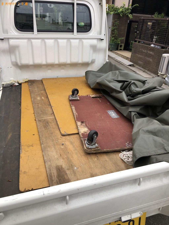 【船橋市】2人掛けソファーの出張不用品回収・処分ご依頼