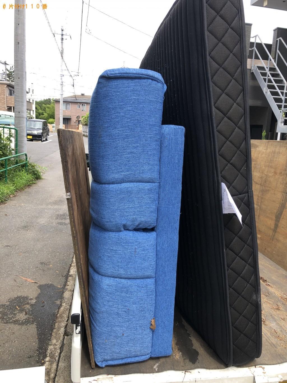 【千葉市中央区】ソファーベッドの出張不用品回収・処分ご依頼
