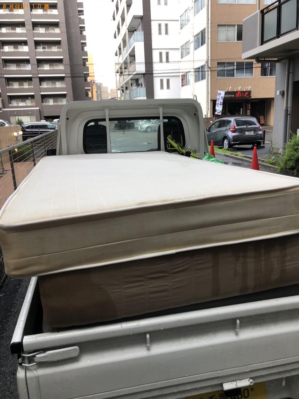 【船橋市葛飾町】マットレスの出張不用品回収・処分ご依頼