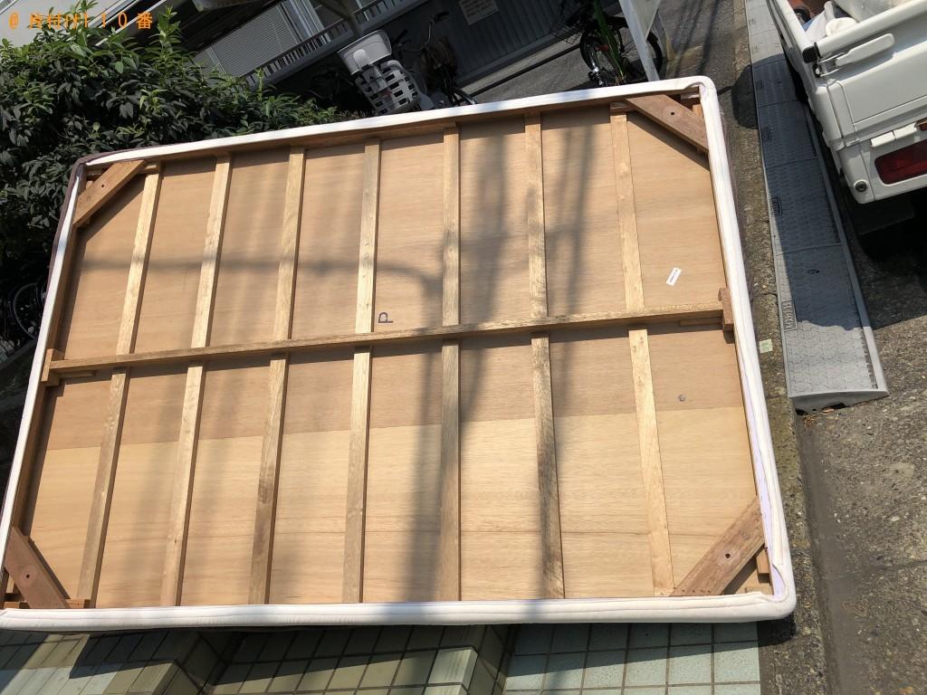 【船橋市】ダブルマットレスの出張不用品回収・処分ご依頼