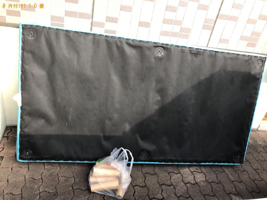 【千葉市稲毛区】脚付きベッドマットレス1点の回収・処分 お客様の声
