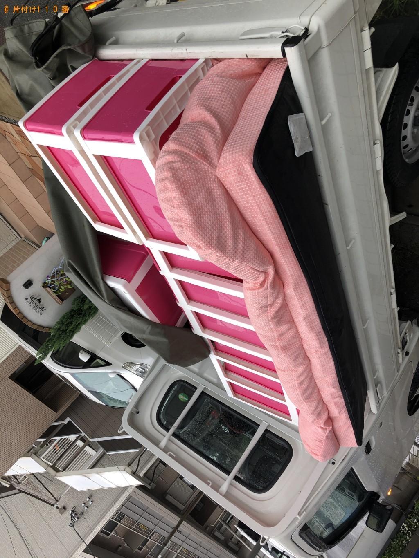 【船橋市本町】ソファー、衣装ケース、テレビ台の回収・処分 お客様の声