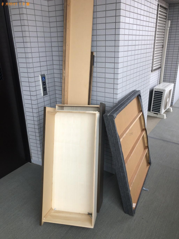 【千葉市美浜区】学習机とダブルベッドマットレスの回収・処分 お客様の声