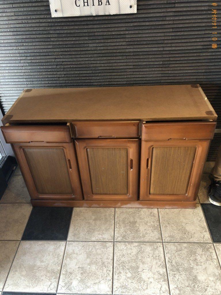 【野田市】遺品整理で本棚と食器棚回収のご依頼 お客様の声