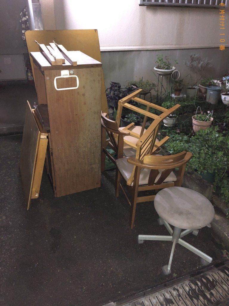 【野田市】テーブルとレンジ台回収のご依頼 お客様の声