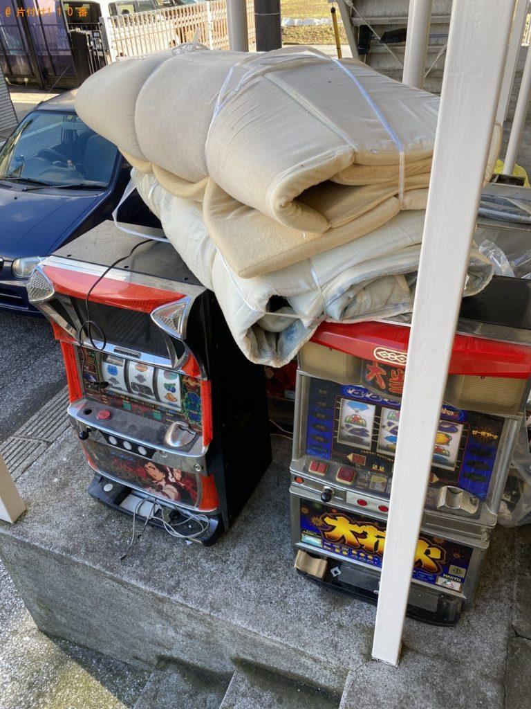【市川市】パチスロ機、布団、バッテリーなどの回収 お客様の声