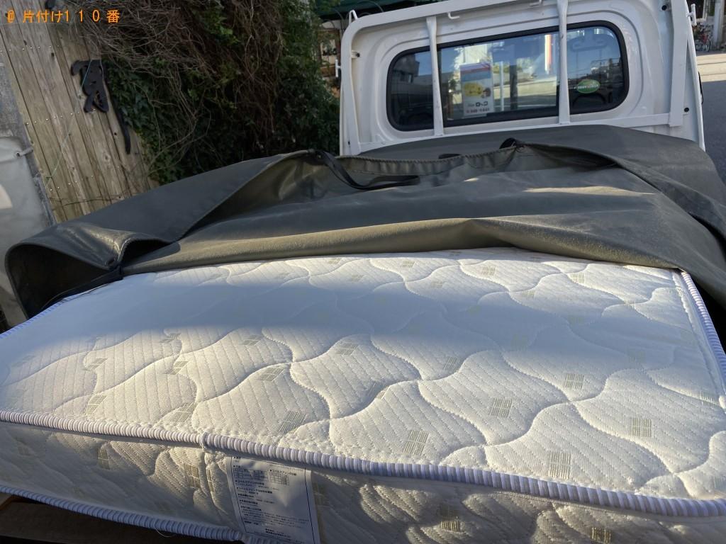 【千葉市中央区】シングルベッドの回収・処分ご依頼 お客様の声