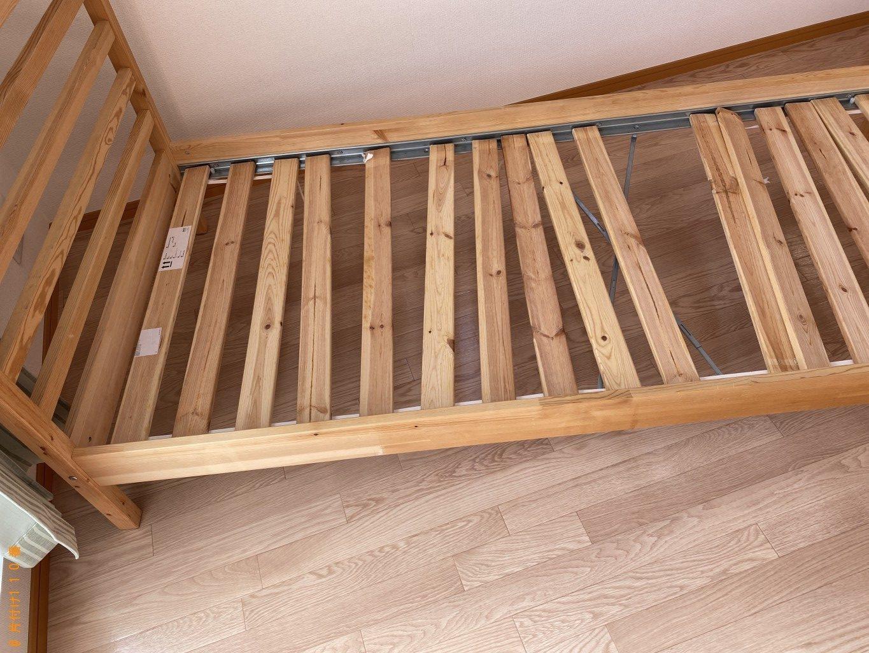 【東金市】シングルベッド、カラーボックスの回収・処分ご依頼