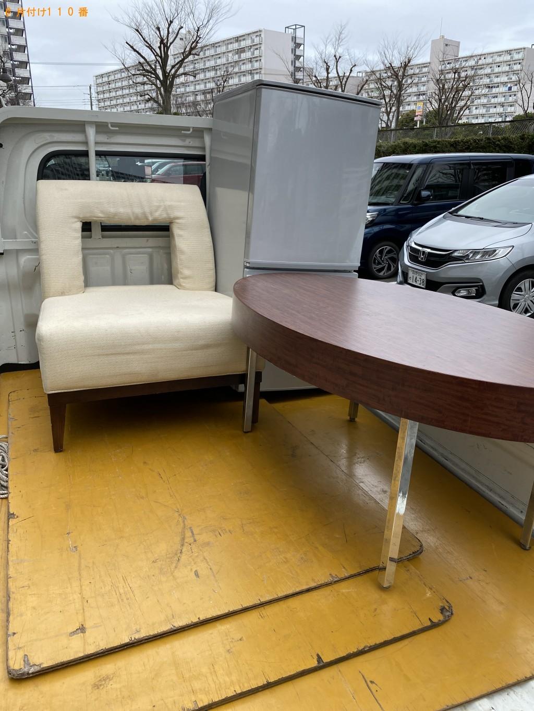 【館山市】冷蔵庫、ローテーブル、ソファーの回収・処分ご依頼