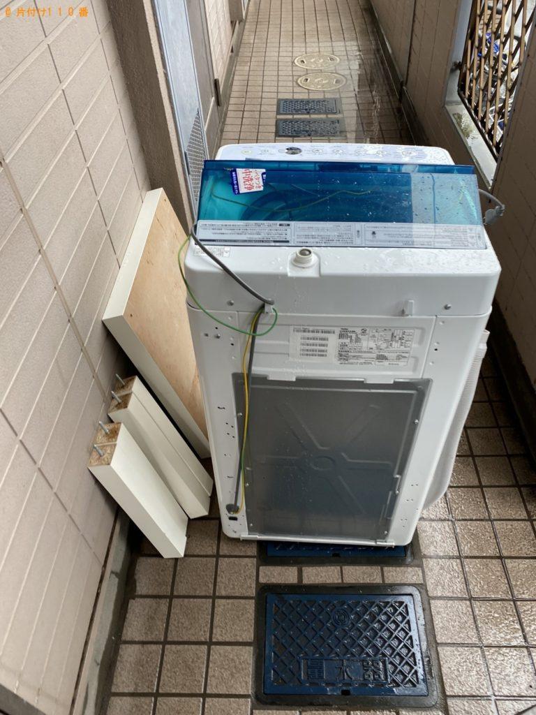 【八千代市】遺品整理に伴い洗濯機、ローテーブルの回収・処分ご依頼