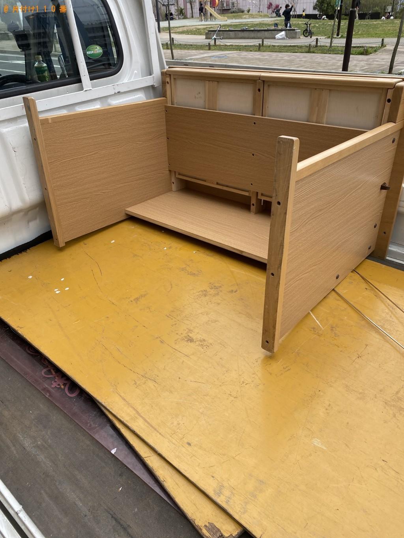 【船橋市北本町】学習机の回収・処分ご依頼 お客様の声