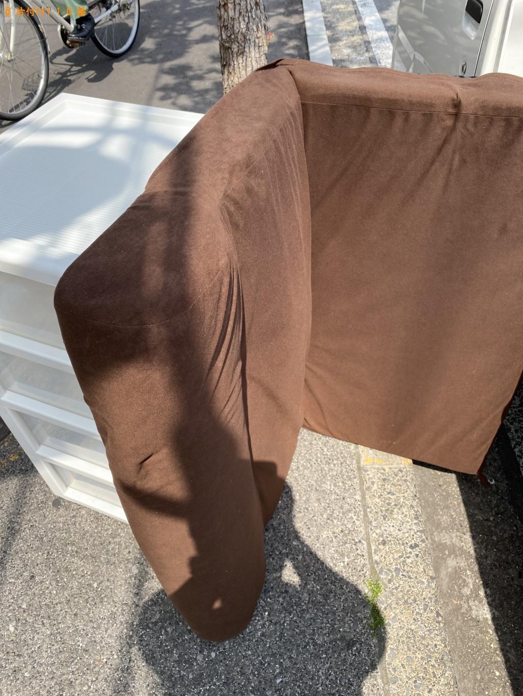 【市川市】簡易ソファー、衣装ケースの回収・処分ご依頼 お客様の声