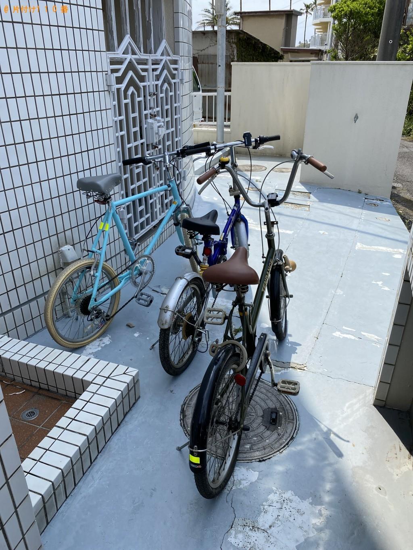 【鴨川市】自転車3台の回収・処分ご依頼 お客様の声