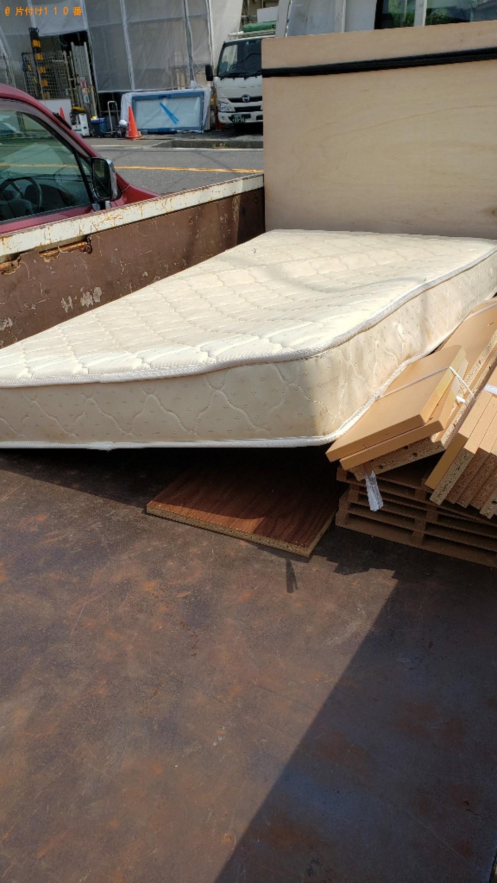 【御宿町】シングルベッド、ベッドマットレスの回収・処分ご依頼