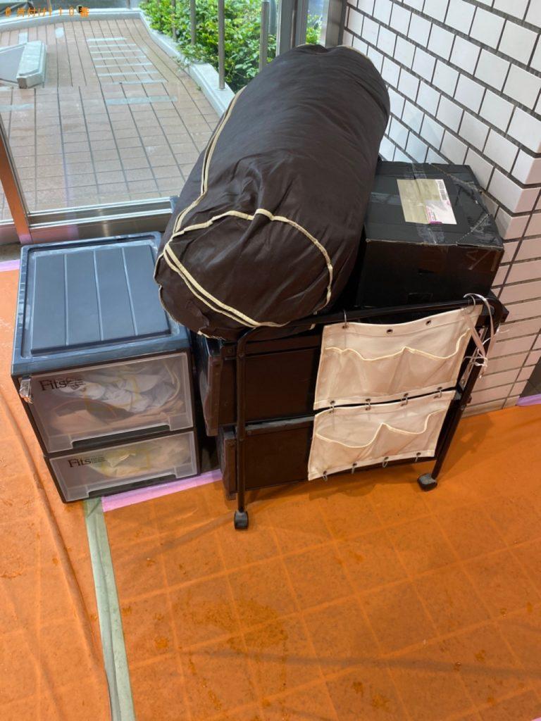 【八千代市】カラーボックス、布団等の回収・処分ご依頼