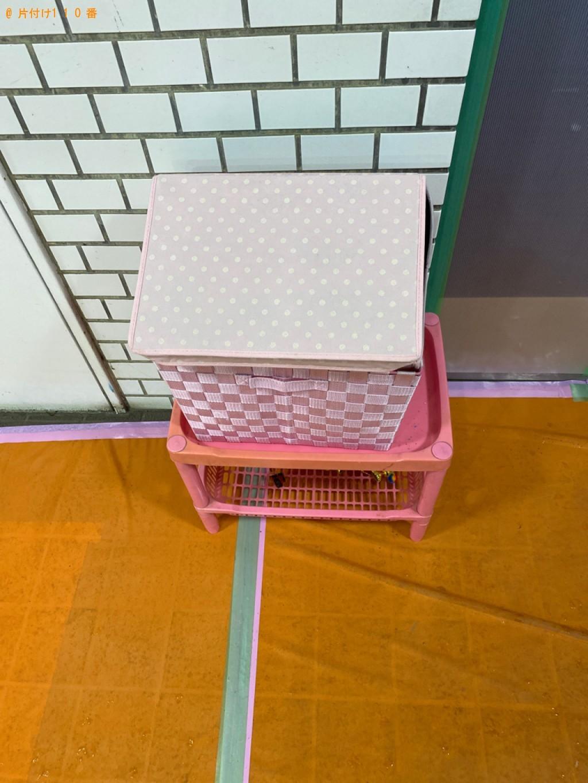 【千葉市稲毛区】カラーボックス、布団等の回収・処分ご依頼