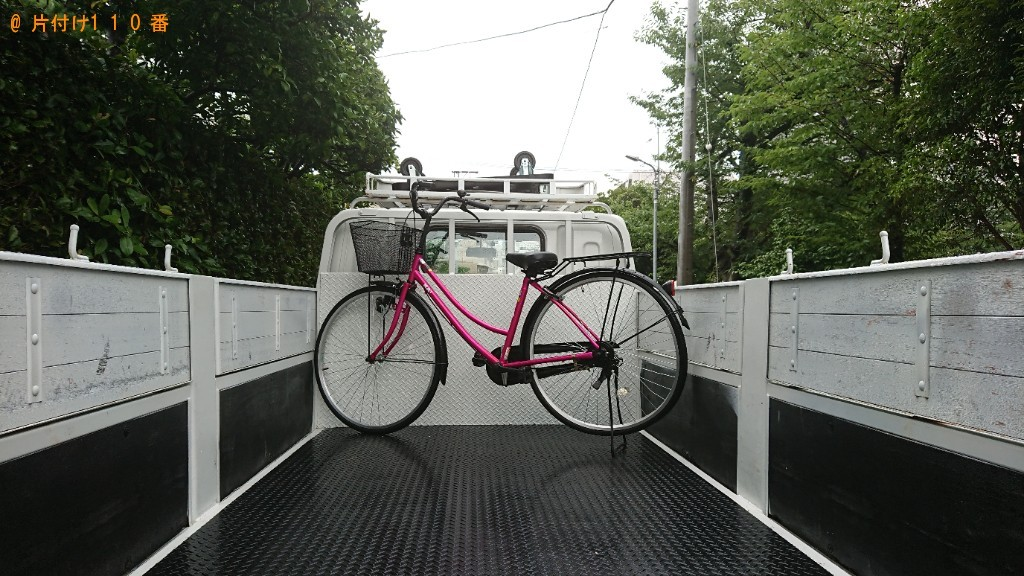 【白子町】自転車の回収・処分ご依頼 お客様の声