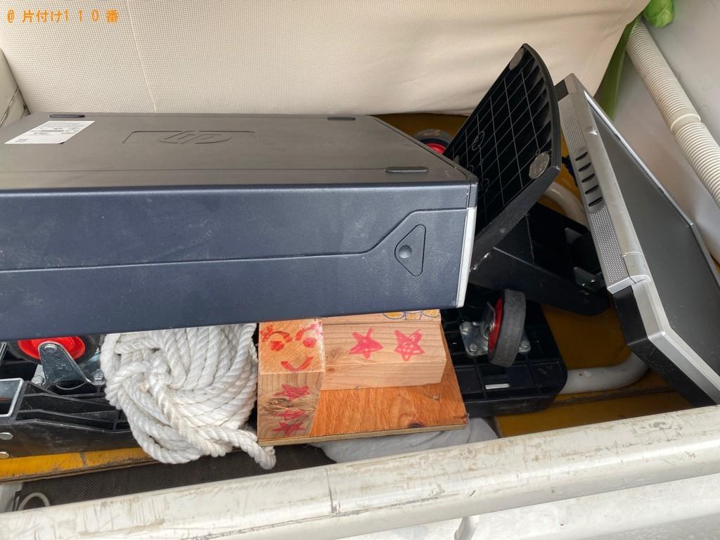 【船橋市】デスクトップパソコン、小型家電の回収・処分ご依頼