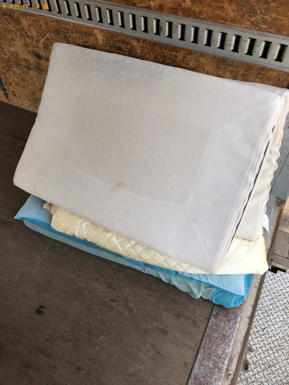浦安市】ウレタンマットレス、布団の回収・処分ご依頼 お客様の声