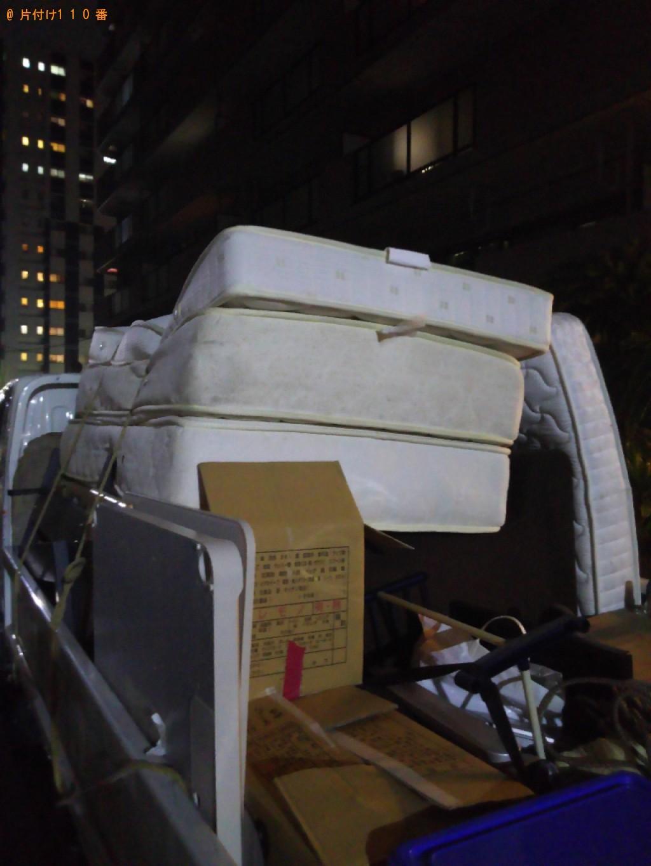【千葉市美浜区】シングルベッドマットレス等の回収・処分ご依頼