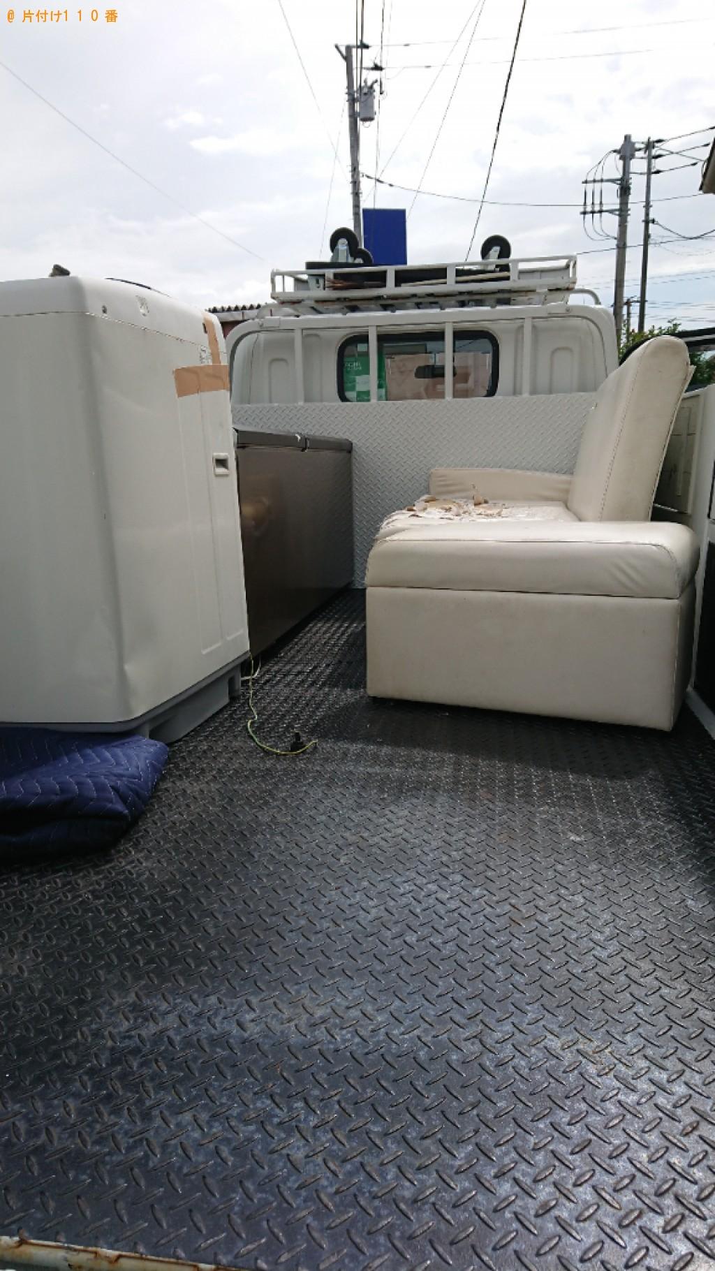 【船橋市】冷蔵庫、洗濯機、ソファー等の回収・処分ご依頼