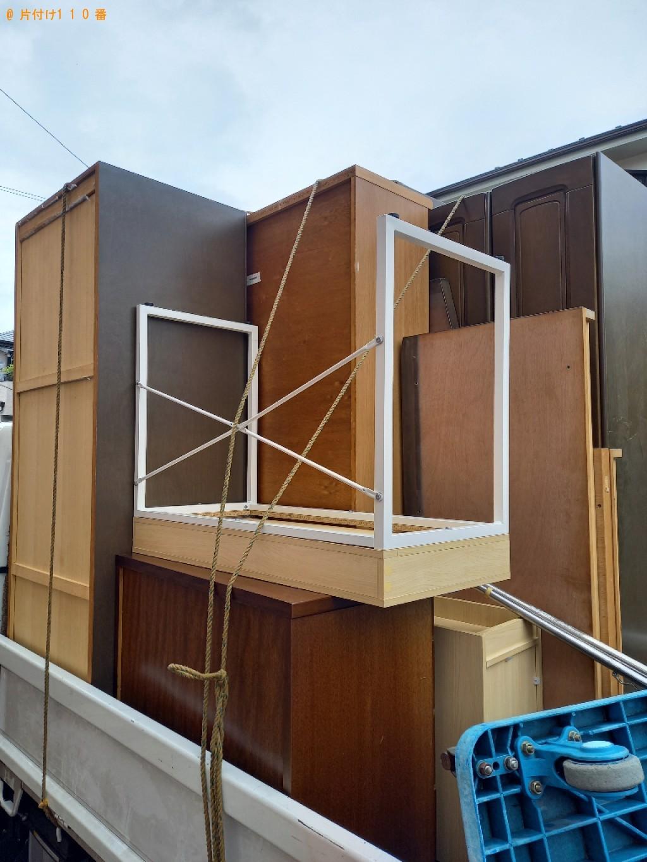 【木更津市】タンス、食器棚、その他家具の回収・処分ご依頼