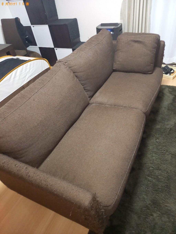 【千葉市若葉区】三人掛けソファーの回収・処分ご依頼 お客様の声