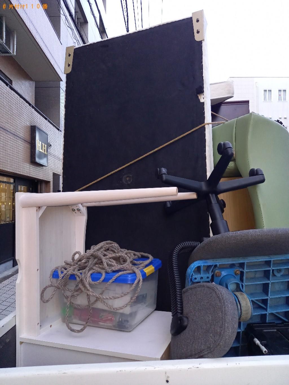 【袖ケ浦市】シングルベッド(マットレス付) の回収・処分