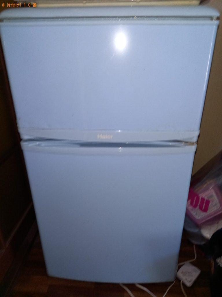 【袖ケ浦市】冷蔵庫、洗濯機、PCデスク、ラック等の回収・処分