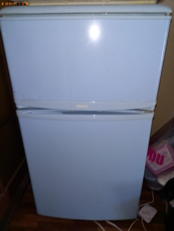 【野田市】冷蔵庫、洗濯機、PCデスク、ラック等の回収・処分