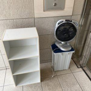 【船橋市本町】カラーボックス、扇風機、ゴミ箱の回収・処分ご依頼