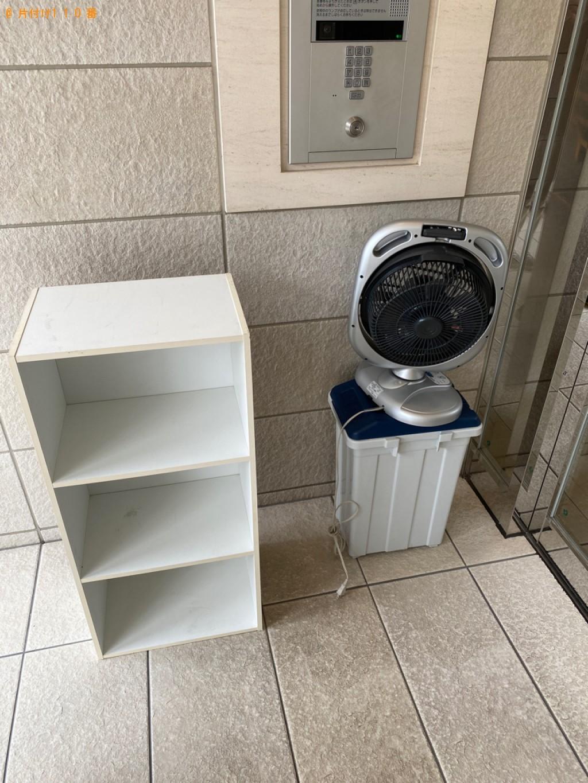 【八千代市】カラーボックス、扇風機、ゴミ箱の回収・処分ご依頼