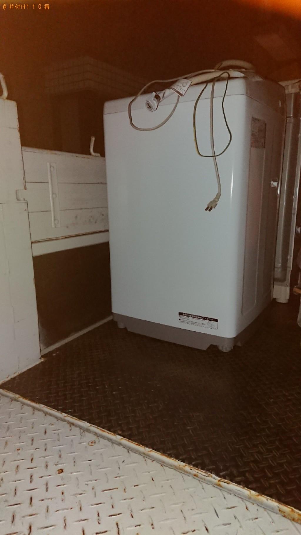 【野田市】洗濯機の回収・処分ご依頼 お客様の声