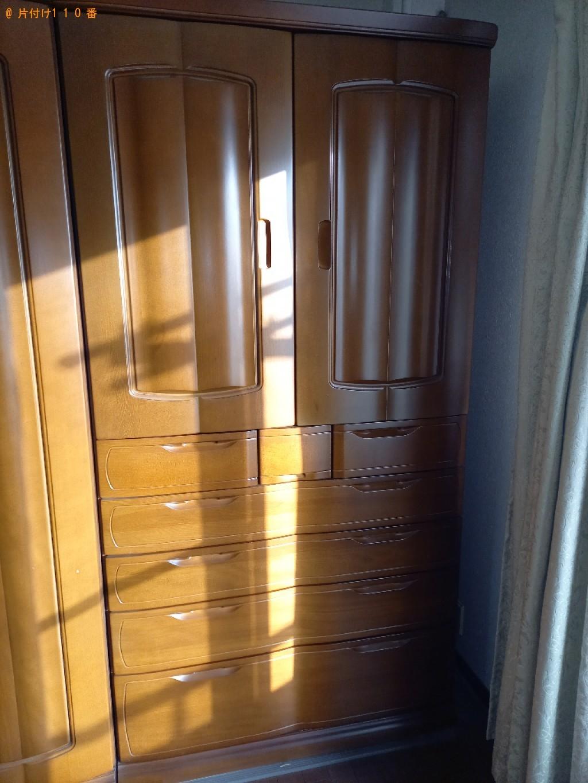 【千葉市緑区】タンス、クローゼット、鏡台、学習机の回収・処分