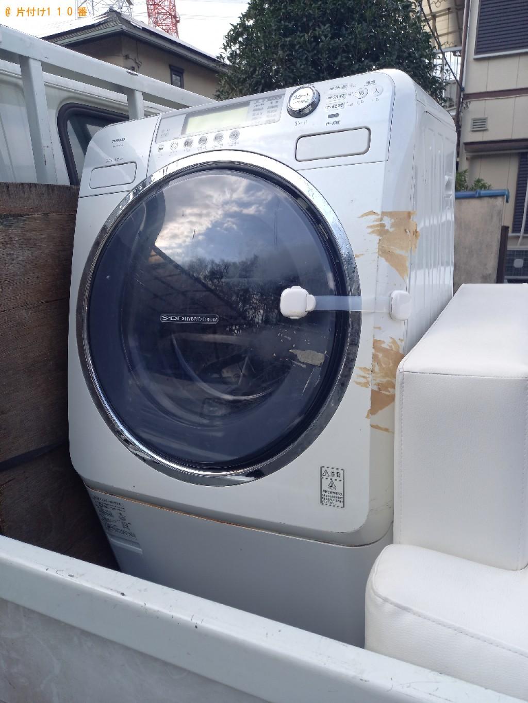 【船橋市小室町】ドラム式洗濯乾燥機の回収・処分ご依頼 お客様の声