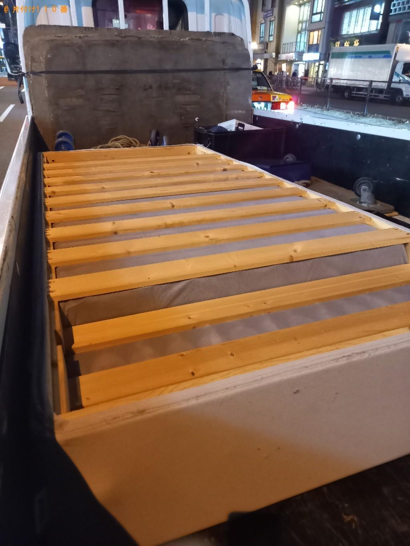 【船橋市本町】マットレス付きシングルベッドの回収・処分ご依頼