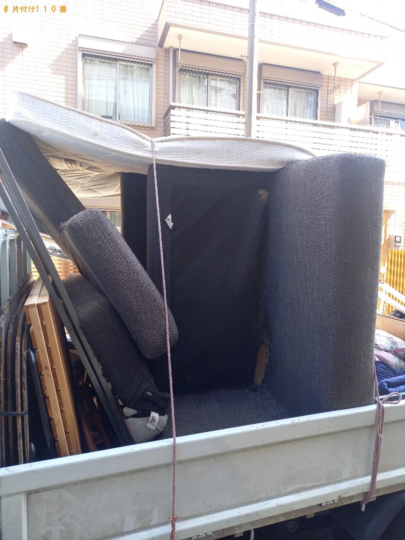 【千葉市中央区】ソファー、布団、マットレスの回収・処分ご依頼