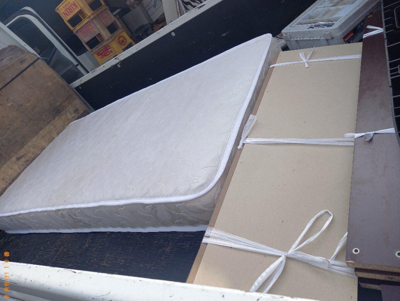 【松戸市】シングルベッド、シングルベッドマットレスの回収・処分