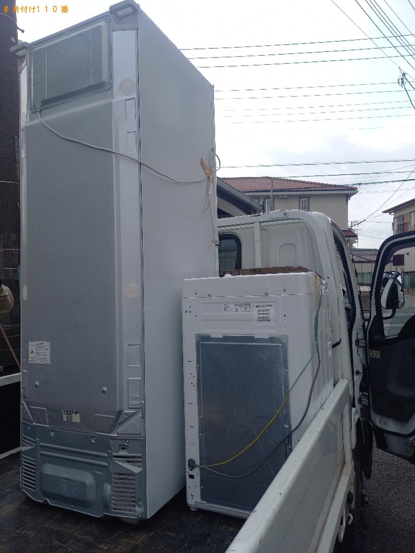 【船橋市】冷蔵庫、洗濯機の回収・処分ご依頼 お客様の声